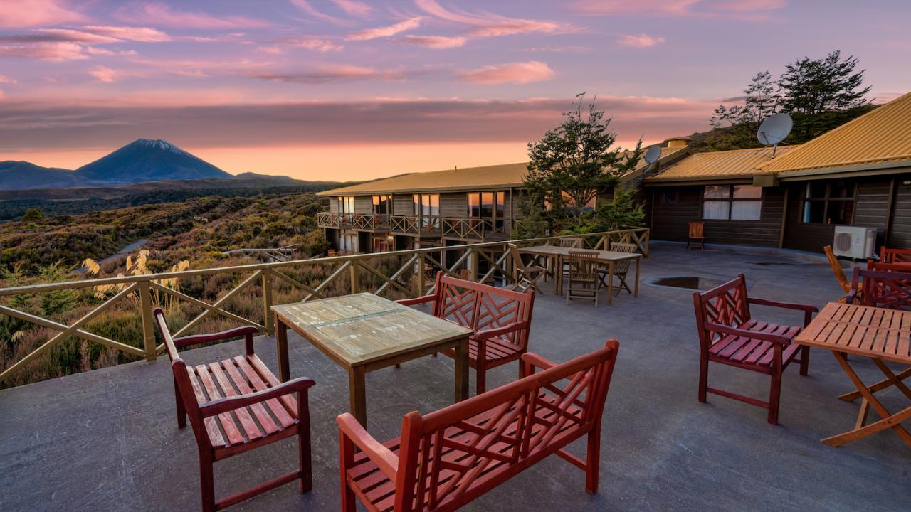 Skotel Alpine Resort - View from the Terrace Deck