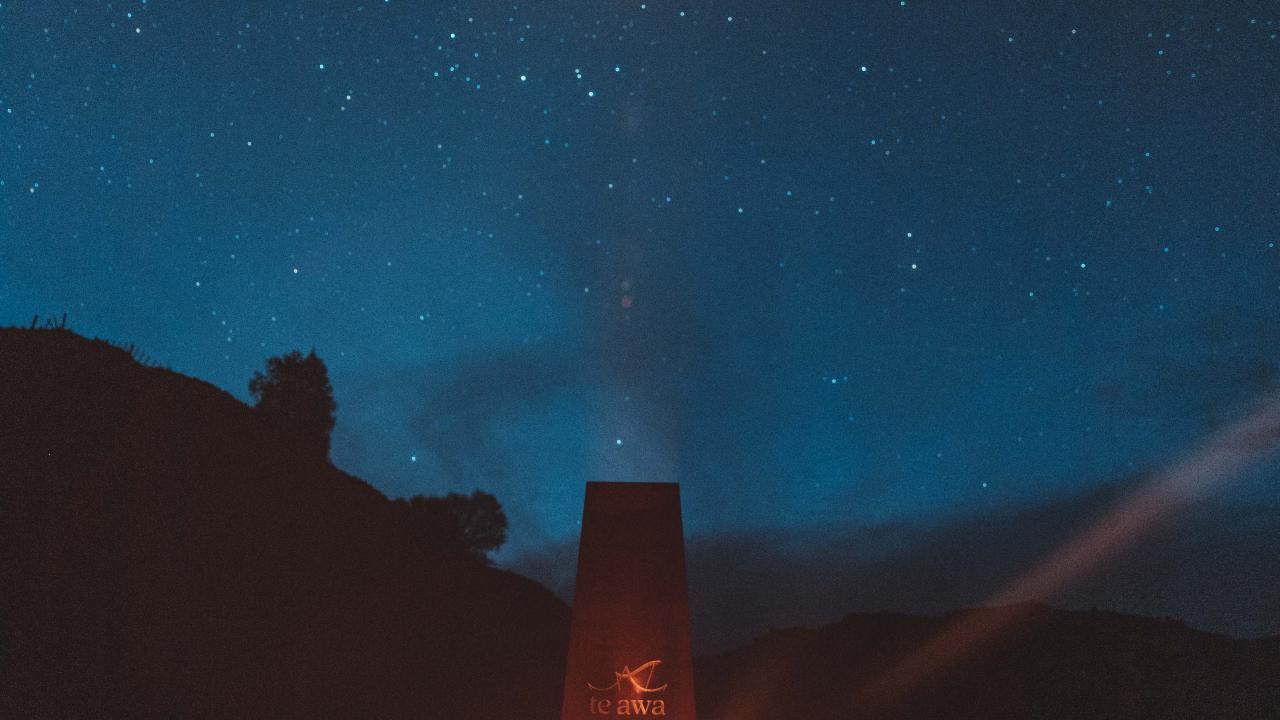 Hot chocolates under a Milky Way sky