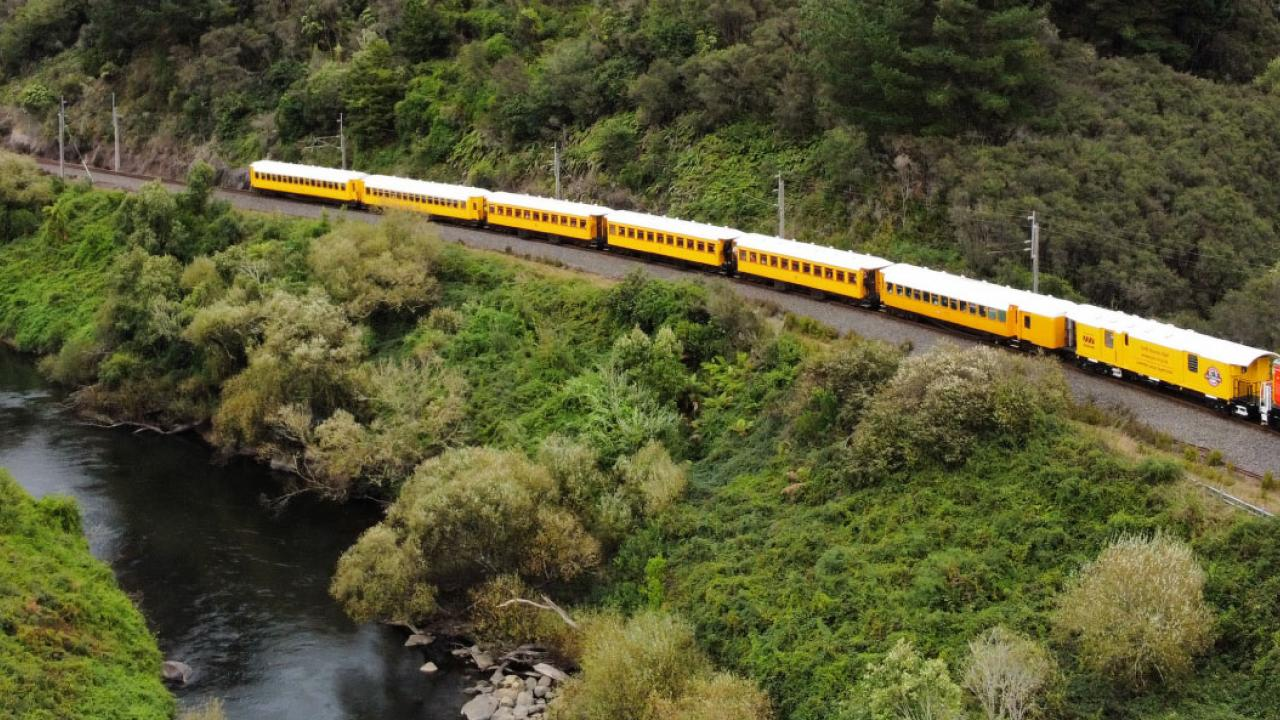 """The North Island Main Trunk is steeped in local and Maori history. Opened completely between Auckland and Wellington in 1908 after over 30 years of construction, the """"Main Trunk"""" passes through many rural settlements and towns."""