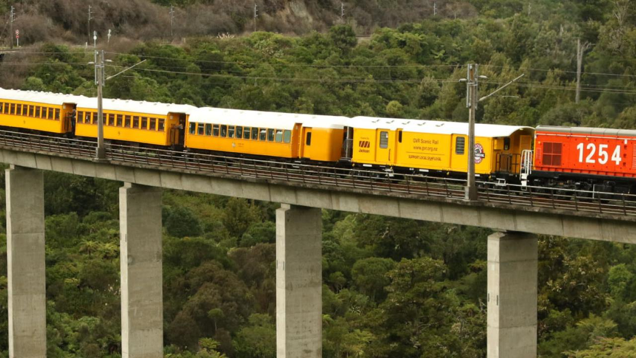 Selected Highlights Include Travel over the North Island Main Trunk line on an exclusive heritage train and traversing the world famous Raurimu Spiral.