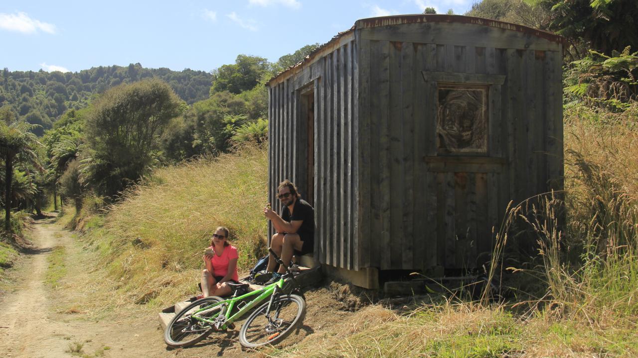 Old loggers bush camp site