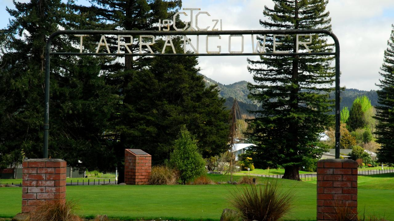Tarrangower Golf Course established 1921