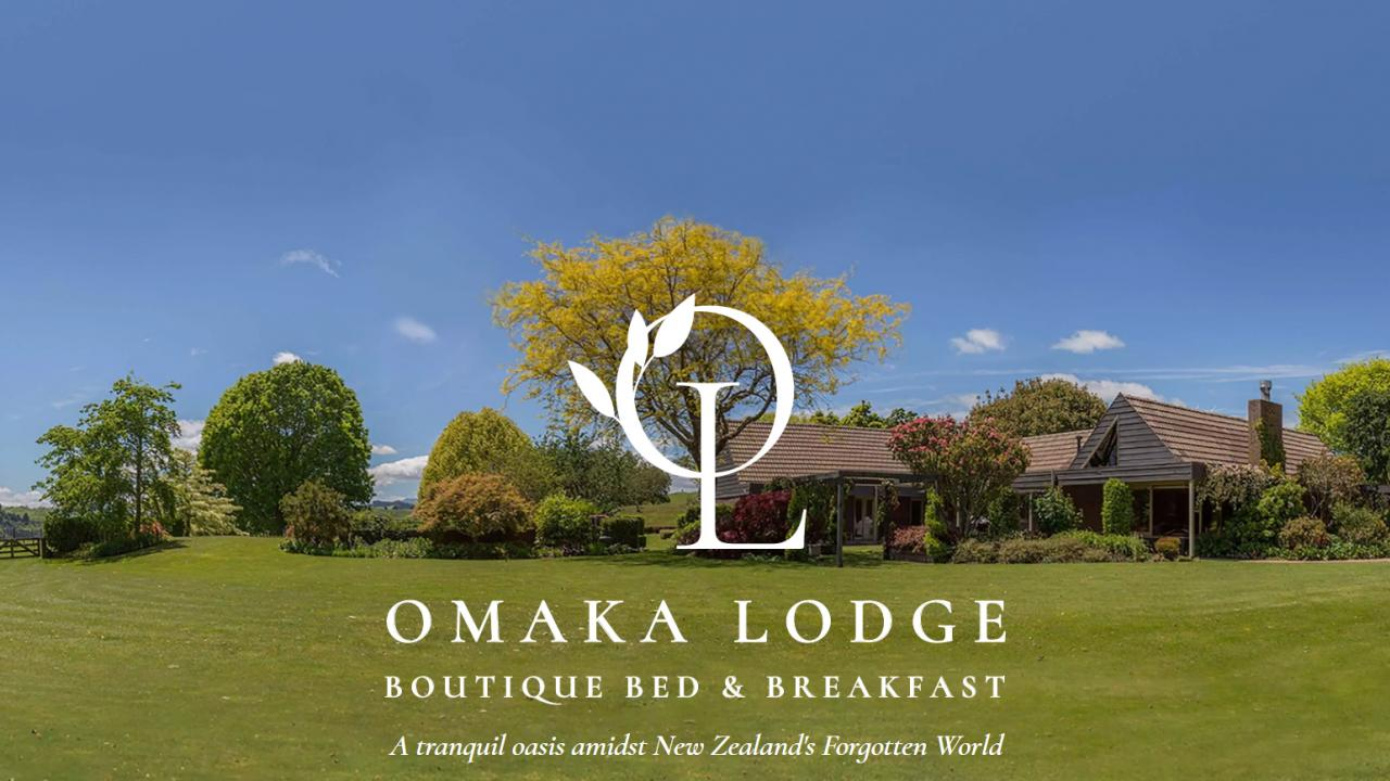 Omaka Lodge, a tranquil oasis amidst New Zealand's Forgotton World Highway.