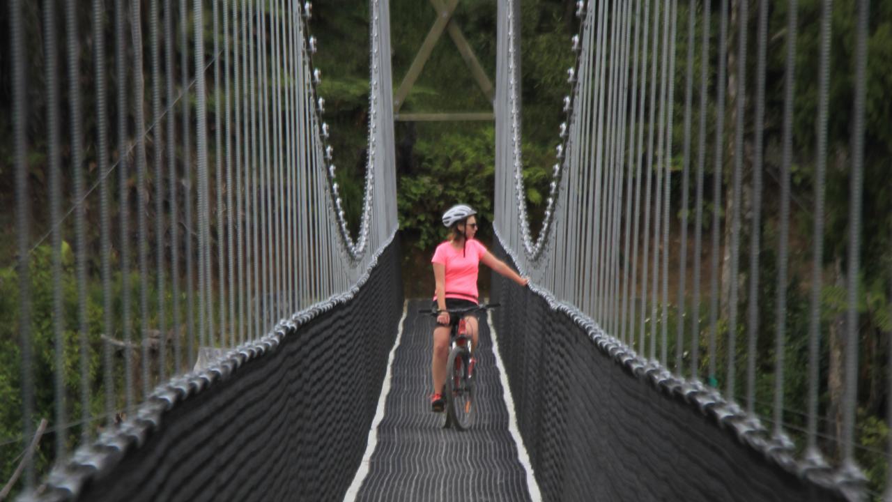 Maramataha suspension bridge