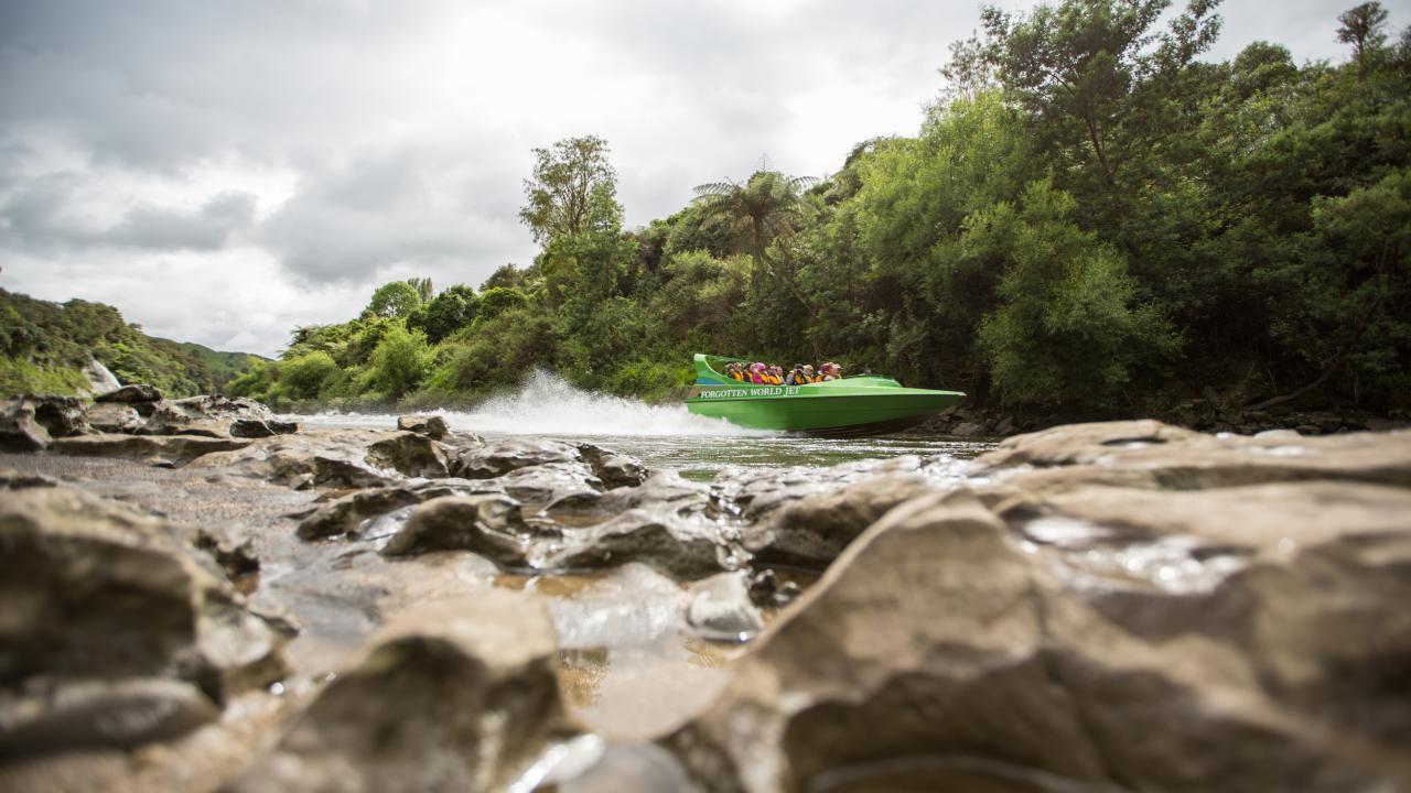 Upper reaches Whanganui River.