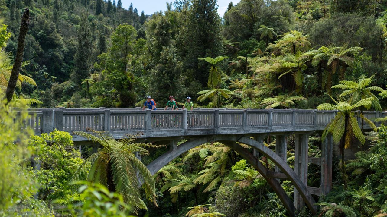 Bridge to Nowhere, Whanganui River