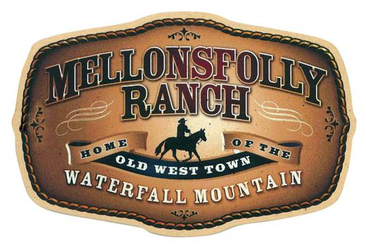 Mellonsfolly Ranch - Home of the Old West Town | Logo