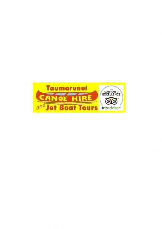 Taumarunui Canoe Hire and Jet Boat Tours | Logo