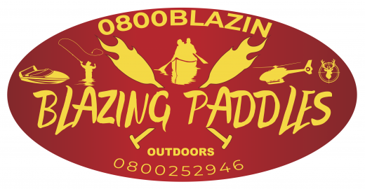 Blazing Paddles | Logo