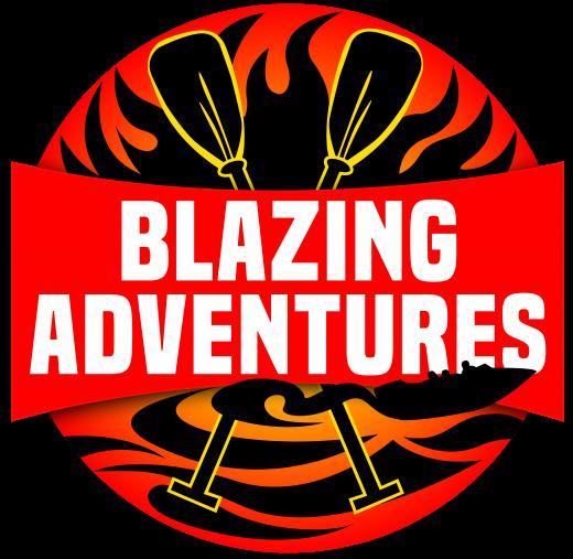 Blazing Adventures   Logo