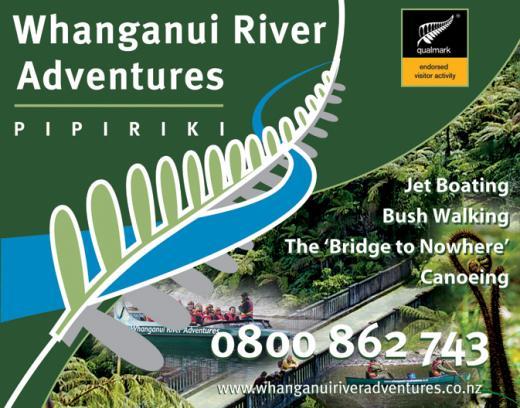 Whanganui River Adventures | Logo