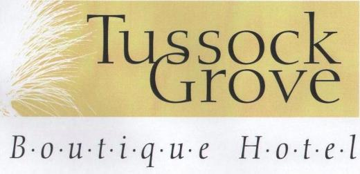Tussock Grove Boutique Hotel & Cottage   Logo