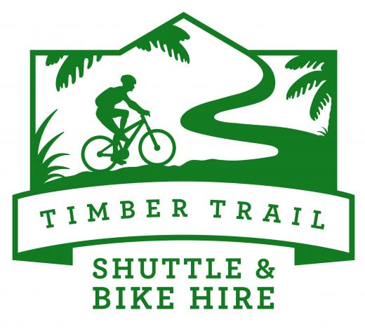 Timber Trail Shuttle & Bike Hire | Logo