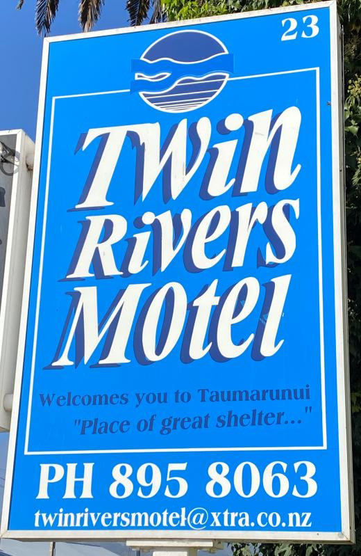 Twin Rivers Motel | Logo