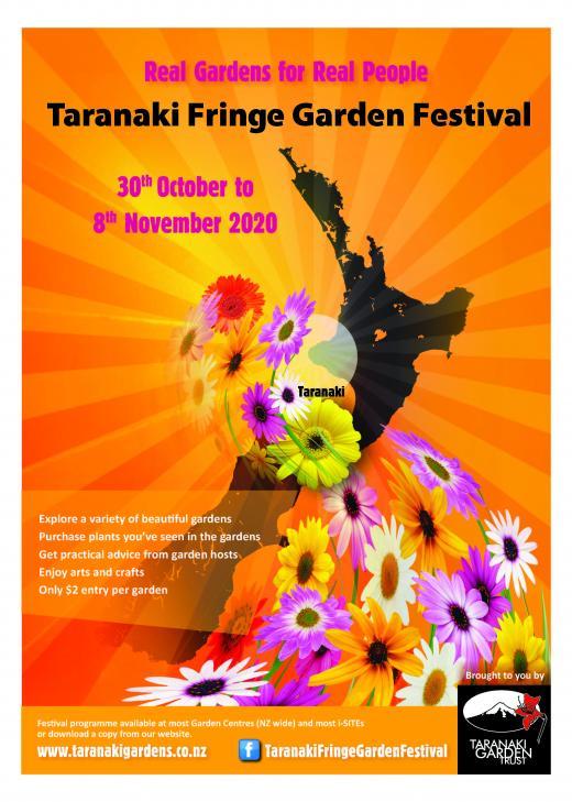 2020 Taranaki Fringe Garden Festival