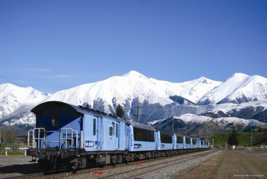 TranzAlpine Train Christchurch to Greymouth (Both ways)