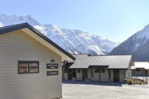 Aoraki Court Aoraki Mount Cook Village