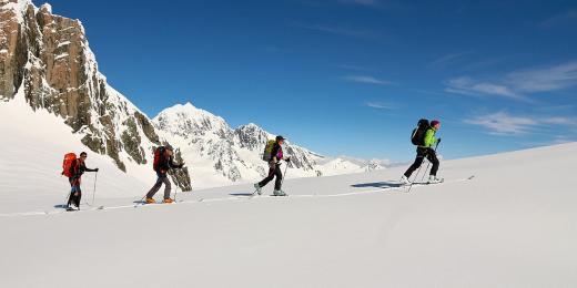 Alpine Ski Touring - Glaciers