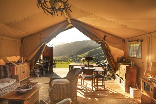 Canopy Camping Escapes - The Green Antler