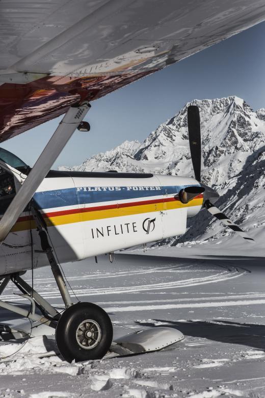 Ski plane 55 minute flight THE GRAND CIRCLE