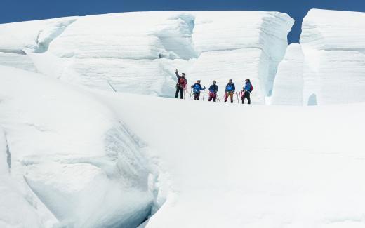 The Wigley: Top of the Tasman Glacier Hike