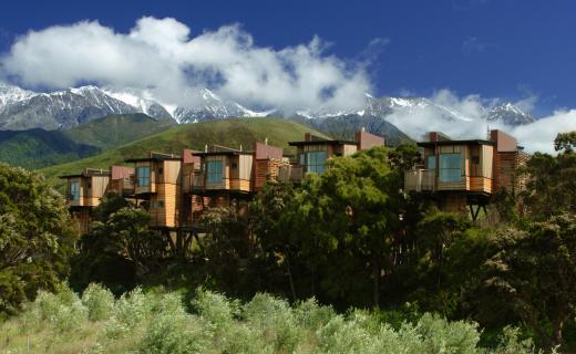 Hapuku Lodge + Tree Houses