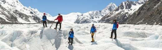 The Adventurer - Haupapa/Tasman Glacier Heli-hike Mount Cook