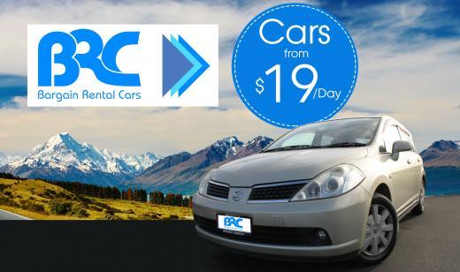 Bargain Rental Cars - Christchurch