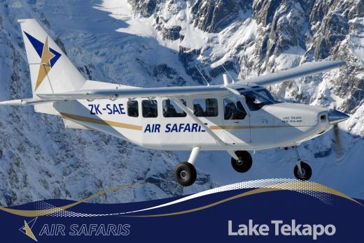 Trans-Divide Excursions Tekapo - Franz Josef | Air Safaris