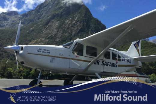 Milford Sound Flights | Air Safaris
