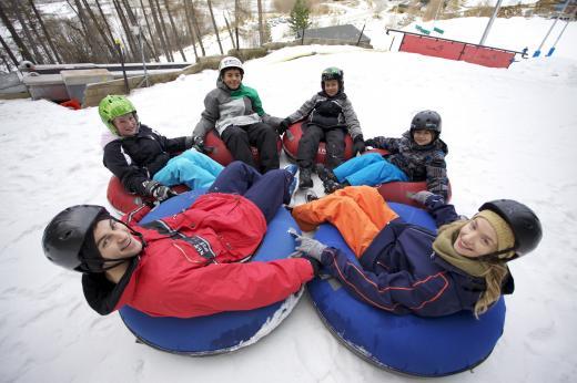 Tekapo Springs Snow Tube Park