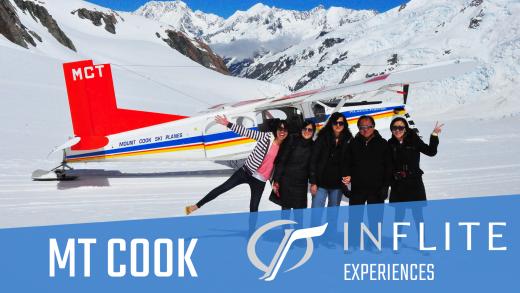 INFLITE Experiences Mt Cook - Alpine and Glacier Landings