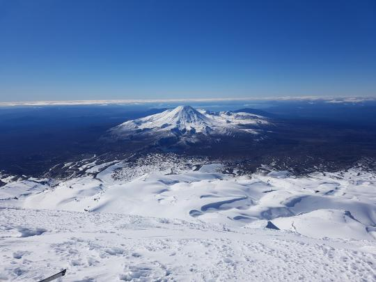 Mt Ruapehu Crater Lake Walk