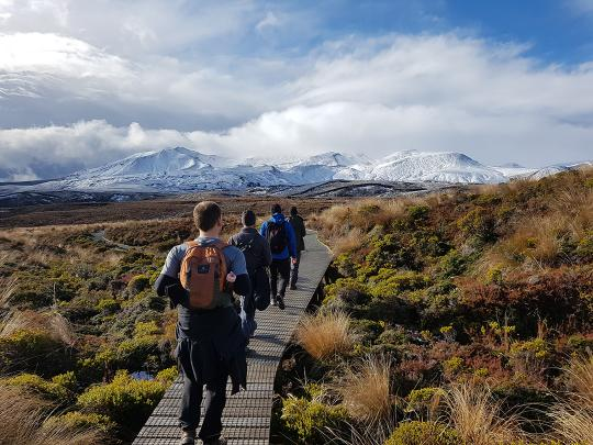 Half Day Volcanic Explorer Guided Walk with Adrift Tongariro