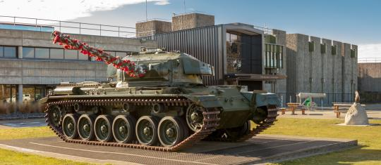 Take a journey through New Zealand's military history at the National Army Museum Te Mata Toa.