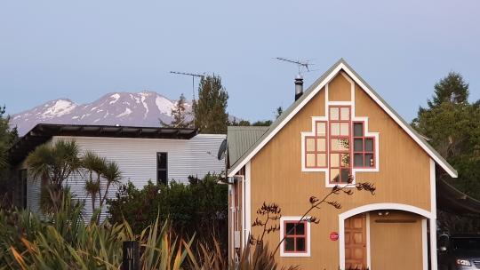 Mt Ruapehu view