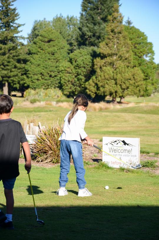 Ruapehu Golf - Family Concessions