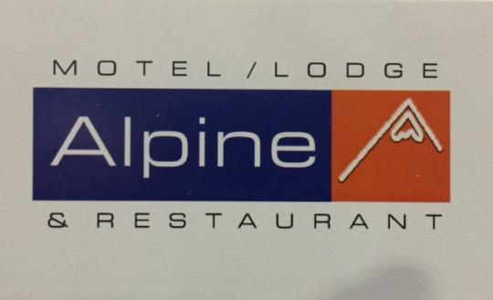 Logo: Alpine Motel, Backpackers Lodge and Lemongrass Restaurant