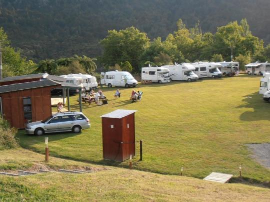 Pipiriki Camping Ground