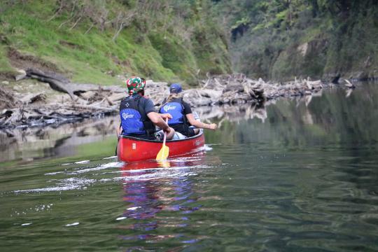 Whanganui River Canoe