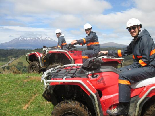 Guided Quad Biking in the heart of Ruapehu
