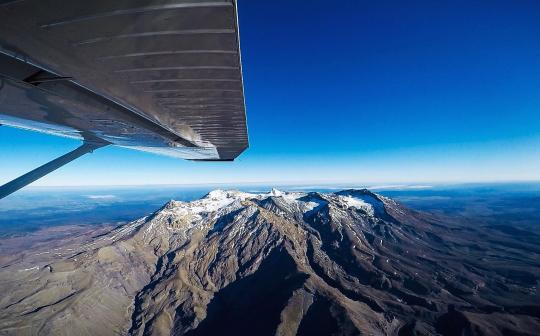 Stunning Mt Ruapheu