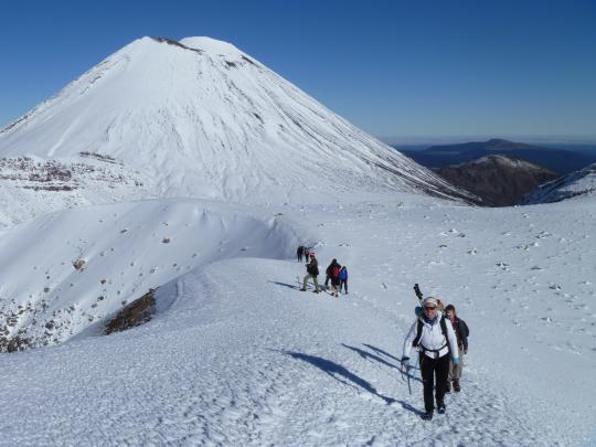 Tongariro Alpine Crossing - Stunning Views Guided Tour in Winter