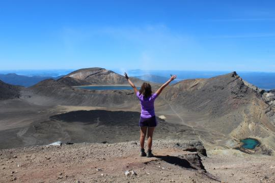 Explore the Tongariro Crossing in the summer