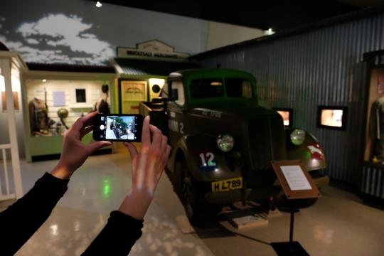 Take a journey through New Zealand's military history at the National Army Museum Te Mata Toa