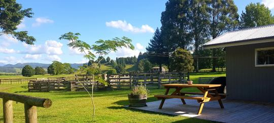 Stunning views from Rua Awa Lodge