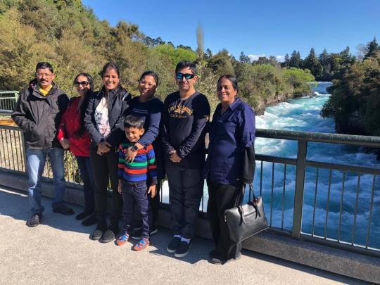 Huka Falls Taupo.